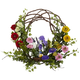 """Home Accents 22"""" Spring Floral Wreath"""