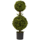 """Home Accents 35"""" Double Boxwood Topiary"""