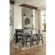 Caitbrook Counter Height Dining Table and 4 Barstools