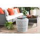 Contemporary Parkdale 18.1 x 18.1 x 17.7 Stool