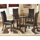 Charrell Dining Table and 4 Chairs