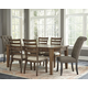 Flynnter Dining Table and 6 Chairs