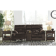 Brassville Reclining Loveseat with Console