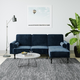 Atwater Living Edison Small Space Sectional Futon