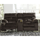 Brassville Power Reclining Loveseat with Console