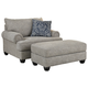 Morren Chair and Ottoman