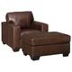 Morelos Chair and Ottoman