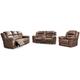 Stoneland Sofa, Loveseat and Recliner