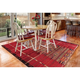 Liora Manne Gorham Decorative Stripe Indoor/Outdoor Rug 4'10
