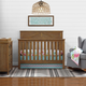 Baby Relax Hathaway 5-in-1 Convertible Wood Crib