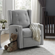 Baby Relax Mikayla Nursery Swivel Glider Recliner Chair
