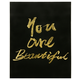 Home Accents You Are Beautiful Canvas Art