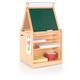 Kids Desk to Easel Art Cart