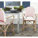 Safavieh Hooper Indoor/Outdoor Stacking Arm Chair (Set of 2)