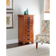 Powell Fully Lined Jewelry Armoire