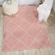 Power Loomed Brisbane Blush 5' x 7' Area Rug