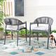 Safavieh Greer Stackable Rope Chair (Set of 2)