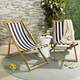 Safavieh Loren Foldable Sling Chair (Set of 2)