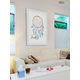 Home Accents Pastel Dreamcatcher Framed Painting Print