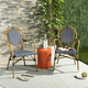 Safavieh Rosen French Bistro Stacking Arm Chair (Set of 2)