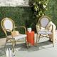 Safavieh Rosen French Bistro Stacking Arm Chair (Set of 2)