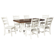 Valebeck Dining Table and 6 Chairs