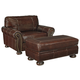 Banner Chair and Ottoman
