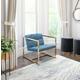 Modern Alt Blue Arm Chair