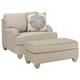 Dandrea Chair and Ottoman