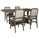 Wyndahl Counter Height Dining Table and 4 Barstools