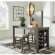 Rokane Counter Height Dining Table and 2 Barstools