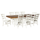Valebeck Dining Table and 8 Chairs