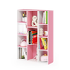 11-Cube Reversible Open Shelf Bookcase