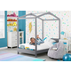 Delta Children Poppy House Twin Bed