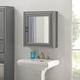 Crosley Tara Bath Mirror Cabinet