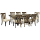 Wendota Dining Table and 8 Chairs