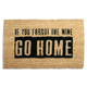 Home Accents Where's the Wine Doormat