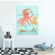 Oopsy Daisy Sea Life Friends - Octopus by Olivia Gibbs Art Prints