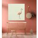 GreenBox Art Flamingo Walk by Cathy Walters Canvas Wall Art