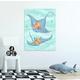 Oopsy Daisy Sea Life Friends - Stingrays by Olivia Gibbs Canvas Wall Art