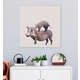 GreenBox Art Warthog & Anteater by Cathy Walters Canvas Wall Art
