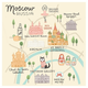 Oopsy Daisy World Traveler - Moscow Russia by Anne Bollman Posters That Stick