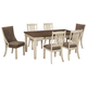 Bolanburg Dining Table and 6 Chairs