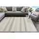 Liora Manne Westbrook Tailor Stripe Indoor/Outdoor Rug 4'10