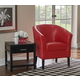 Red Scotty Club Chair
