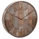Home Accents Wine Barrel Wood Wall Clock