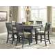 Tyler Creek Counter Height Dining Table and 6 Barstools