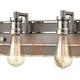 Steel Gridiron Vanity Light