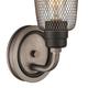 Steel Glencoe Vanity Light