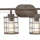 Steel Gilbert 3-Light Vanity Light